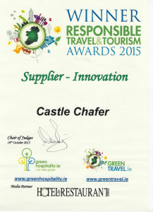 Castle Chafer Supplier - Innovation Award Winner 2015