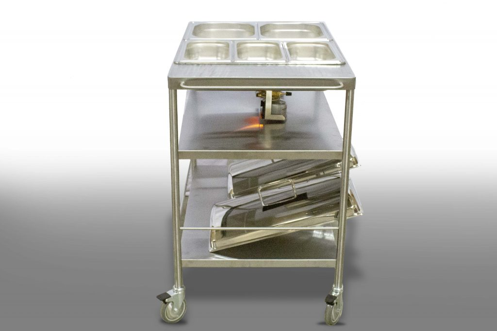 Castle Chafer Buffet Trolley